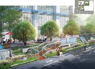 常德市南城天街生态139彩票下载示范工程设计
