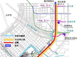 深圳前海—南山排水深隧系统工程设计监理及技术咨询