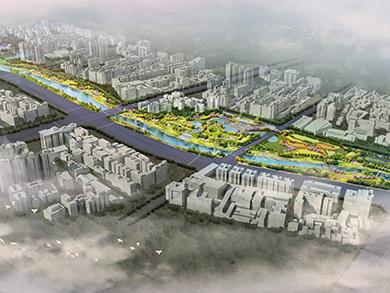 深圳坪山区赤坳河湿地公园综合整治项目