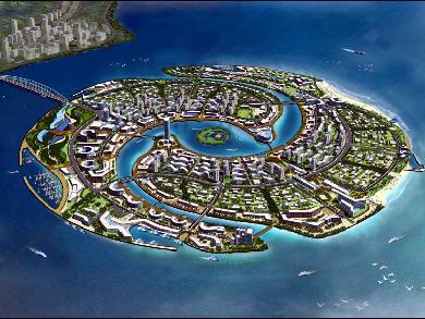 福建省漳州市双鱼岛139彩票下载城市专项设计